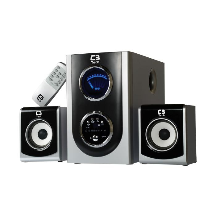 HOME THEATER 2.1 28W RMS C3 TECH C5571-ME