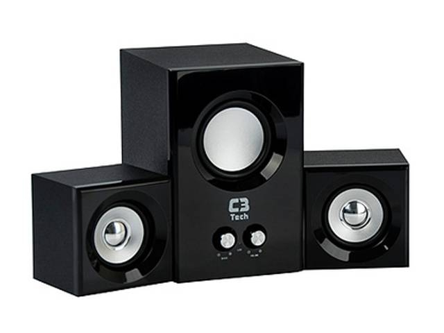 HOME THEATER 2.1 8W RMS C3 TECH SP-223BS