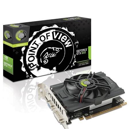 PLACA DE VIDEO POINT OF VIEW GTX650 1GB DDR5 128BIT PCI-E
