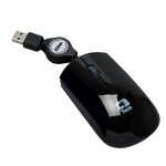 MOUSE OPTICO USB RETRATIL MS3220 PRETO C3-TECH