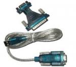 CABO CONVERSOR USB/SERIAL PRETO HITTO