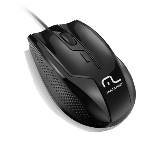 MOUSE OPTICO USB MULTIMIDIA MULTILASER -MO164