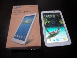 TABLET SAMSUNG ANDROID 4.0 LCD 7.0 TAB3 SM-T210  BRANCO