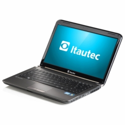 NOTEBOOK ITAUTEC W7540-0324, INTEL CORE I3-2350M, LED 14, 2GB, HD 500GB