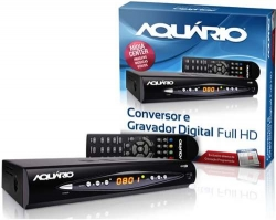 CONVERSOR E GRAVADOR DIGITAL DE TV DTV-8000 AQUARIO