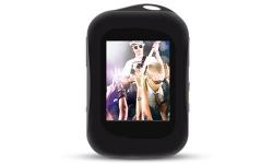 MP4 PLAYER PRETO LCD 1.8 4GB EMBORRACHADO DAZZ