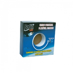 CABO COAXIAL 40% MALHA 100 METROS RG59 BEDINSAT