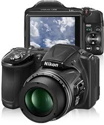 C�MERA DIGITAL NIKON L830 PRETA + CART�O SD 4GB