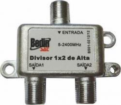 DIVISOR DE SINAL PARA TV 5-2400-1X2 ALTA BS01-02 BEDINSAT