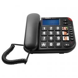 TELEFONE DE MESA BASICO TOK FACIL ID INTELBRAS PRETO