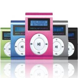 MINI MP3 PLAYER PRETO
