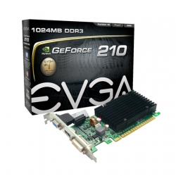 PLACA DE VIDEO EVGA GT210 1GB 64 BIT DDR3 PCI-E